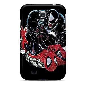 Shockproof Hard Phone Case For Samsung Galaxy S4 (VEr12MGYc) Provide Private Custom Trendy Venom Vs Spiderman Series