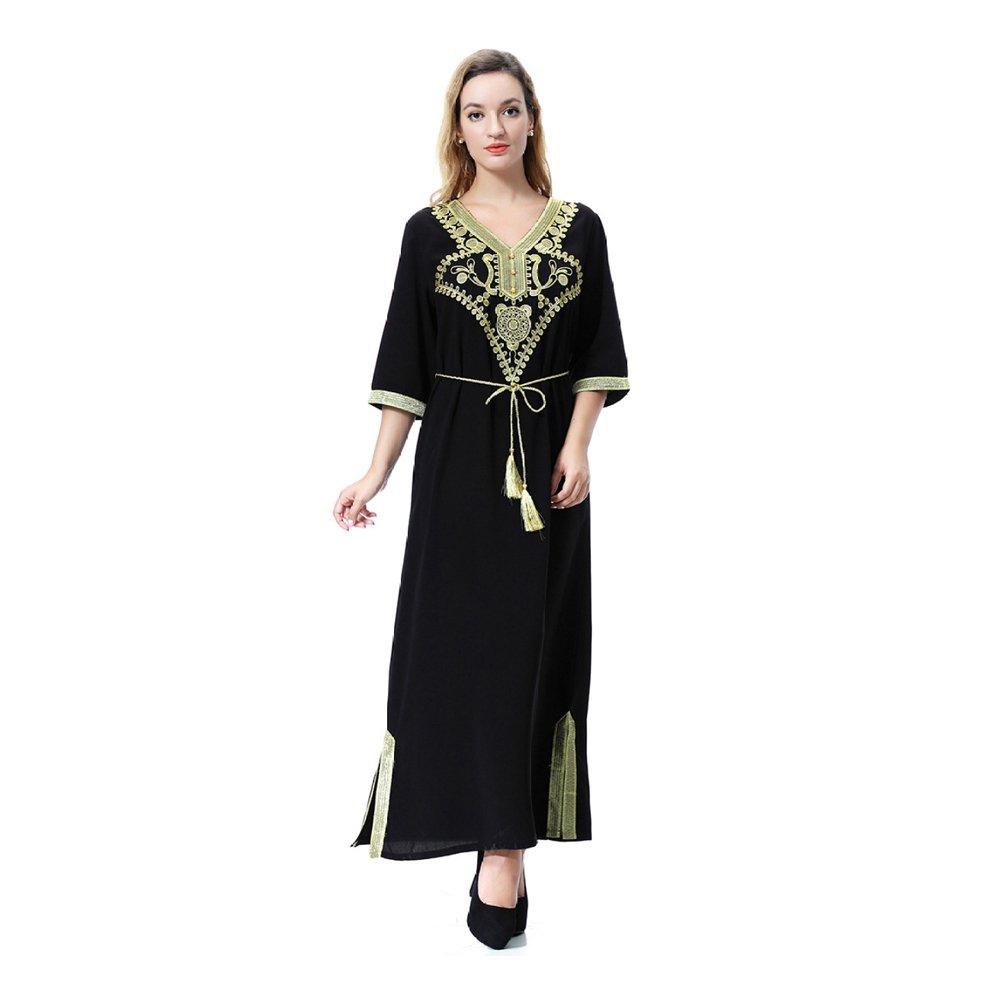XIAOLONGY Vestidos De La Túnica De Las Mujeres Del Sudeste Asiático ...