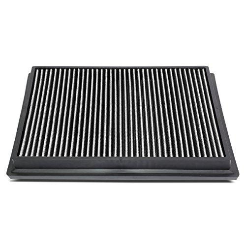 DNA Motoring AFPN-174-SL Silver Panel Air Filter [For 15-18 Toyota Hilux Revo/Fortuner]