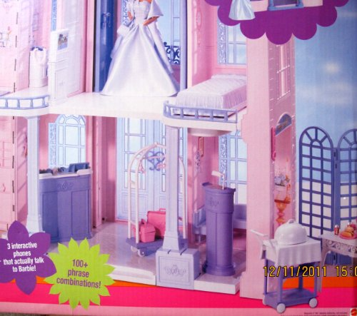 Barbie Grand Hotel Playset W Interactive Phone 100 Phrases 5