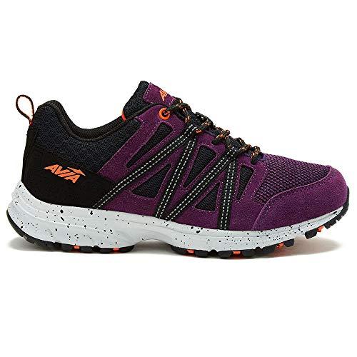 Avia Women's Avi-Vertex Walking Shoes Shadow Purple 8