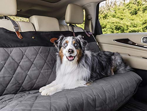 (PetSafe Solvit Premium Extra-Wide Bench Pet Seat Cover for Dogs, Grey)