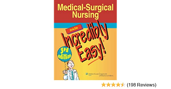 Medical surgical nursing made incredibly easy incredibly easy medical surgical nursing made incredibly easy incredibly easy series kindle edition by lippincott professional technical kindle ebooks fandeluxe Gallery