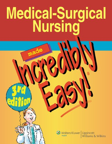Medical-Surgical Nursing Made Incredibly Easy! (Incredibly Easy! Series®) Pdf