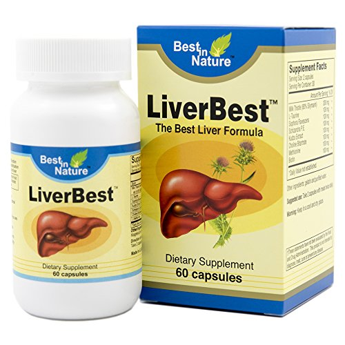 LiverBest – Vitamin Promotes Healthy Liver Function, Enhance Detoxification – with Milk Thistle, L-taurine, Sophora Flavescens, Schizandra, Kudzu Extract, Choline Bitartrate. Review