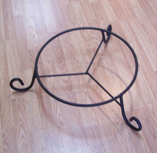Wrought Iron Stand for Whiskey Barrels & Wine Barrels