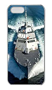 iPhone 5/5s Case, Personalized Protective Boat Case for iPhone 5/5S PC Clear Phone Cover