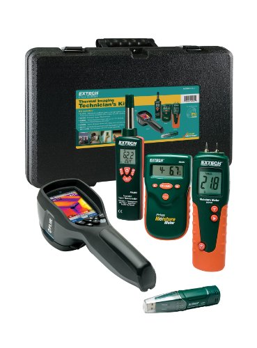 Extech MO280-RK-i7 Thermal Imaging Technician's Kit with I7 Camera (Thermal Moisture Meter compare prices)