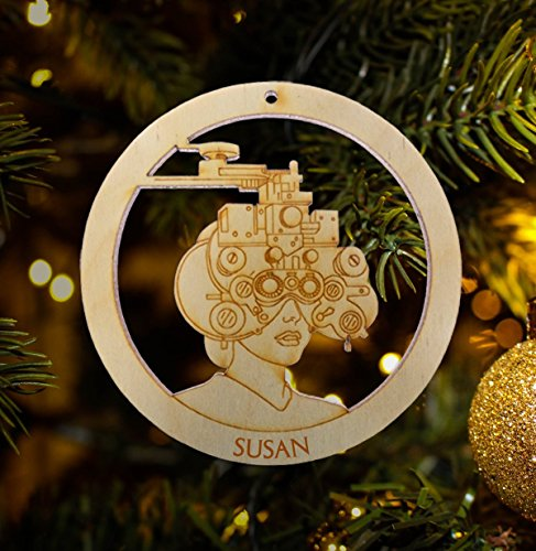 Ophthalmologist Ornament - Optometry Gift - Personalized Optometrist Gifts - Optometrist Gift - Ophthalmology Ornament - Eye Doctor Gift