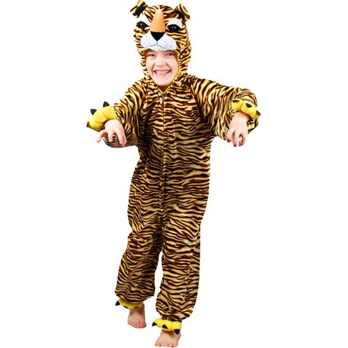 Tiger - Childrens Dressing Up Costume size 3-4 years