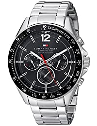 Tommy Hilfiger Men's 1791104 Sophisticated Sport Analog Display Quartz Silver Watch