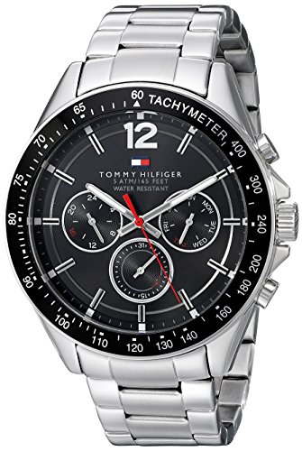 Tommy Hilfiger Men's 1791104 Sophisticated Sport Analog Display Quartz Silver Watch by Tommy Hilfiger