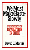 We Must Make Haste Slowly, David J. Morris, 0394718895