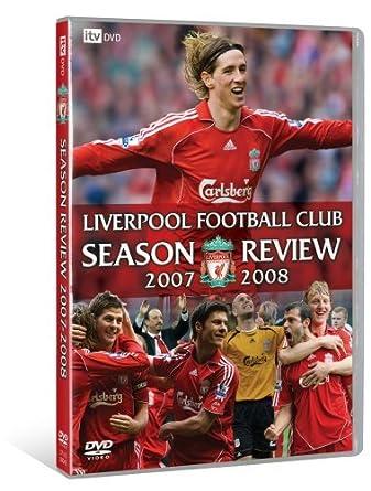 b57f2d179db Liverpool FC  Season Review 2007 2008  DVD   Amazon.co.uk  Rob ...