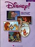 Disney! Songbook: Easy Piano (Walt Disney Easy Piano Solos)