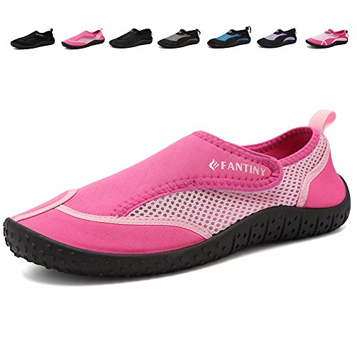 Womens Womens Swimming Arch - CIOR Men and Women Aqua Shoes Quick Drying Water Sports Shoes for Beach Pool Boating Swim Surf,DNDDKSX,02Pink,39