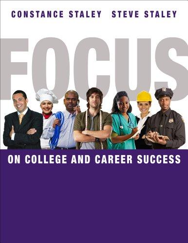 Bundle: FOCUS on College and Career Success + College Success CourseMate with eBook, CSFI 2.0 Printed Access Card