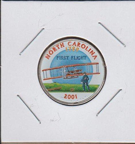 2001 D Washington State Quarter North Carolina Quarter Choice Extremely - 2001 Quarter Carolina State North