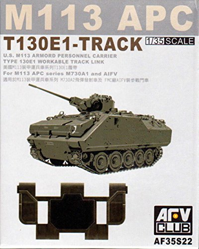- M-113 APC T130E1 Workable Track Links 1-35 AFV Club