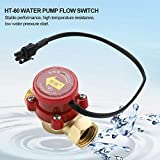 """G1/2"""" -1/2""""Pump Flow Switch,Thread Water Pump Flow Sensor Switch,for Low Water Pressure Ignition Starting of The Shower, and The Automatic Circulation of Solar Water Heater."""