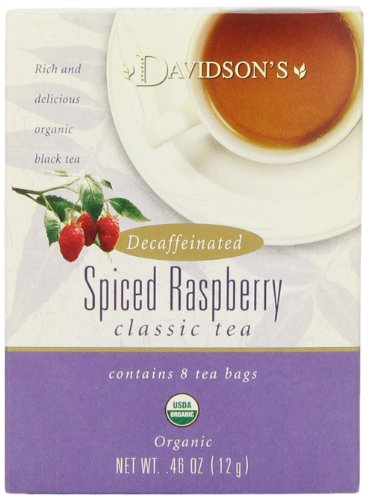 Davidson's Tea Assorted Decaffeinated, 8-Count Tea Bags (Pack of 12)