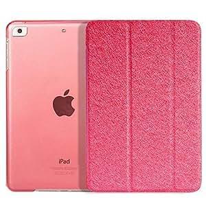 El caso plegable del patrón de seda para iPad Aire , Oro