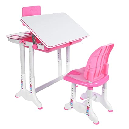 Cool Children Table And Chair Set Kids Student School Desk Chair Dailytribune Chair Design For Home Dailytribuneorg