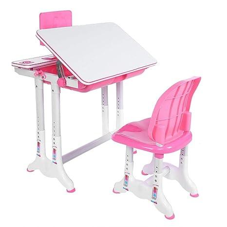 Juego de mesa y silla para niños, mesa de dibujo y silla ...