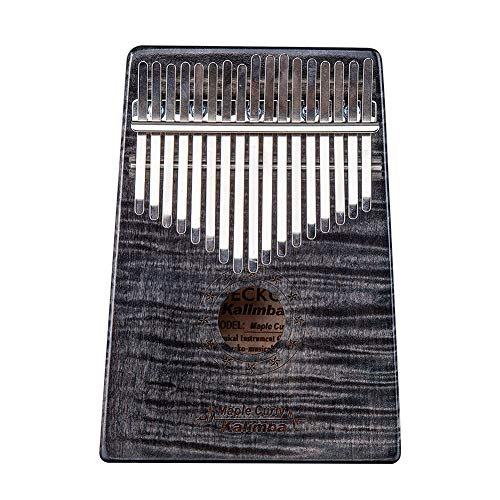 Alician 17 Key Wooden Thumb Piano Kalimba in C Music Instrument Toy Gift Portable Music Instrument Accessories