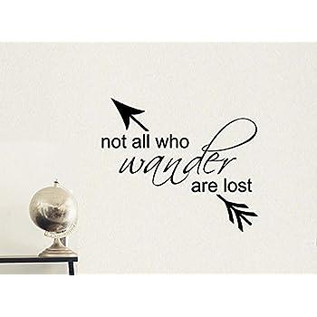 Amazon.com: Cita – No All Who Wander Are Lost – Vinilo de ...