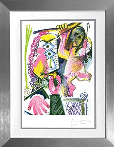 EliteWorldAuction Picasso-Bather with Beach Ball-Lithograph-292