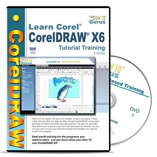 amazon com corel draw coreldraw x6 tutorial training course on 2 rh amazon com tutorial corel draw x6 pdf manual corel draw x6 pdf español