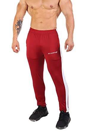 ddebc03f8b Jed North Men s Active Gym Running Casual Tapered Workout Sweat Pants
