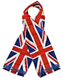 "United Kingdom - 8"" x 60"" Lightweight Polyester Flag Scarf"