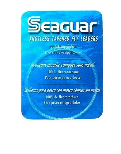 Seaguar Knotless 9-Feet Fluorocarbon Tapered Leader, 2X