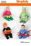 Simplicity Sewing Pattern 2323 Babies' Costumes, A (XS-S-M-L)