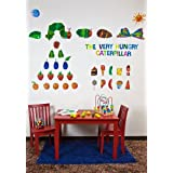 Oopsy Daisy Eric Carle's The Very Hungry Caterpillar TM Peel and Place Childrens Wall Decals by Eric Carle, 54 by 45-Inch