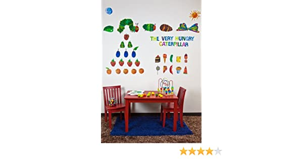 Amazon.com: Oopsy Daisy Eric Carle, U0027s The Very Hungry Caterpillar TM Peel  And Place Childrens Wall Decals By Eric Carle, 54 By 45 Inch: Baby Part 72