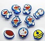 12 Doraemon Shoe Charms Fits Jibbitz Croc Shoes