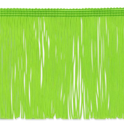 Expo International 20-Yard Chainette Fringe Trim, 6-Inch, Lime