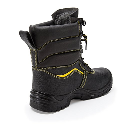 steel proof safety shoes toe Black industrial puncture amp;construction unisex work shoes shoes 49 dR4qdw