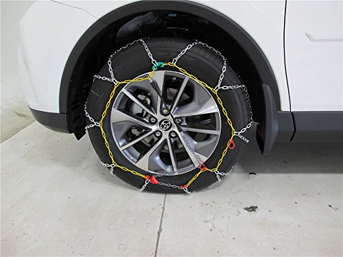 EAMRTC2526 * Titan Chain Alloy Snow Tire Chains - Diamond Pattern - Square Link - 1 Pair (for Passenger Vehicles and Light Trucks) by Titan (Image #2)