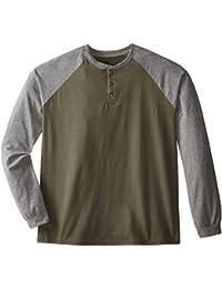 Men's Long-Sleeve Beefy Henley T-Shirt