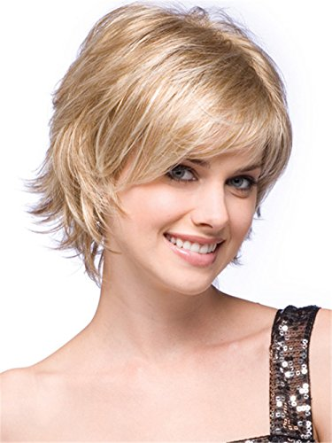 Straight Natural Resistant Synthetic Blonde product image