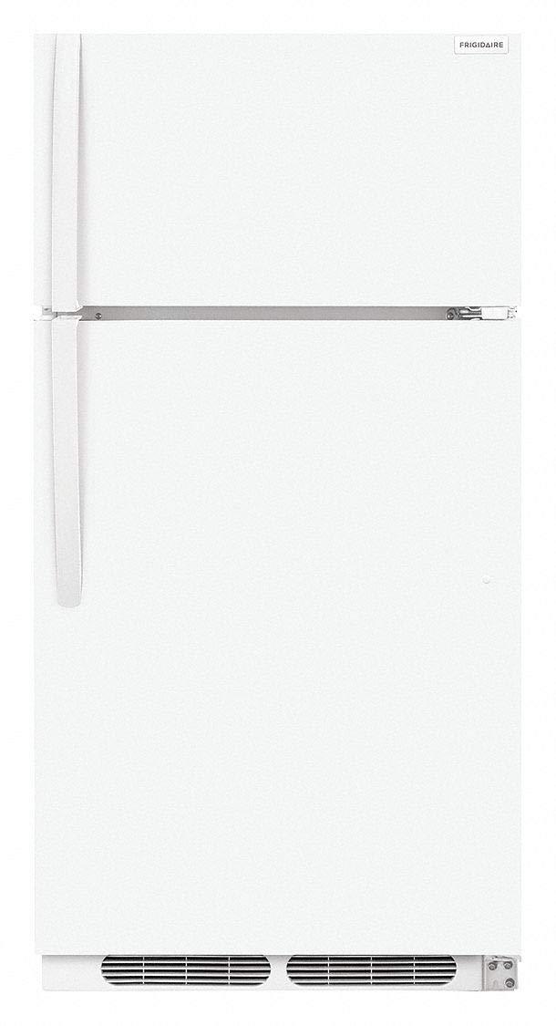 FRIGIDAIRE Refrigerator, Top Freezer, 14.6cu ft, White