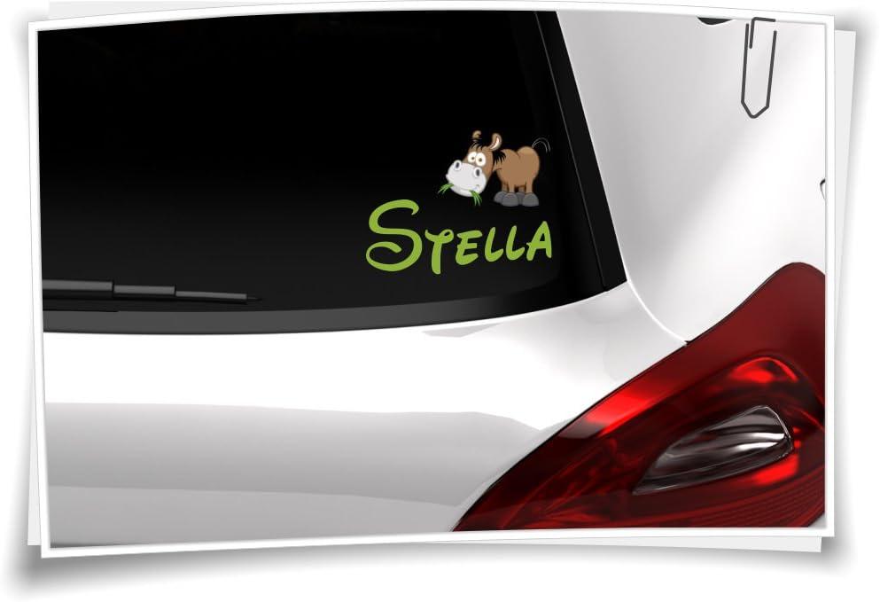 Autoaufkleber Sticker Kinder Aufkleber Name Kindername Baby Junge Boy Girl Mädchen Pferd Küche Haushalt
