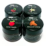 Lip Scrub With Antioxidants and Vitamin E 4 pcs Set