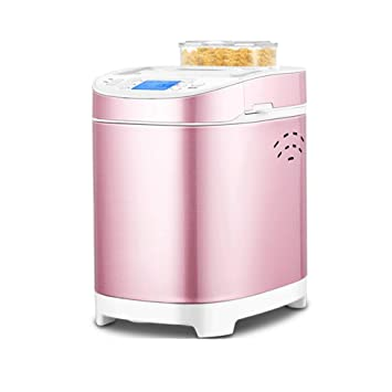 Digital Bread Maker con dispensador automático de ingredientes: 18 funciones predefinidas de 550W, que