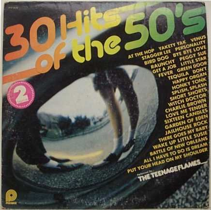 30 Hits of the 50's Performed by the Teenage Flames [Yakety Yak, Tequila, Peggy Sue, 16 Candles, Jailhouse Rock, Wake Up Little Susie, Get a Job, Venus, Splish Splash, Love -
