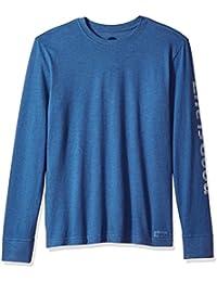 Men's Crusher Long Sleeve Lig Painted Htvnbl T-Shirt,
